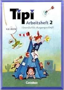 Tipi 2. Sprachbuch. Arbeitsheft. Vereinfachte Ausgangsschrift. Mit CD