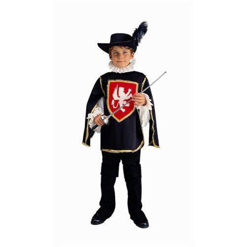 [Musketeer Boy - Large, Blue Costume by RG Costumes] (Musketeer Sword Costume)