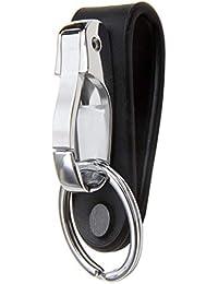 Belt Keychain Leather Belt Loop Key Holder Belt Key Chain Clips with Detachable Keyring for Men