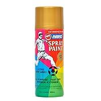 Abro Colour Spray Paint (400ml, Gold)