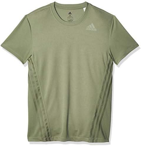 adidas Herren Herren T-Shirt Aeroready 3-Streifen T-Shirt