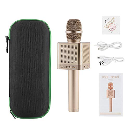 PC/Condenser Microphone,Professional Network K Song Recording, Equipped with Tripod, Pc Laptop Audio, Anchor Live Chat, YouTube Recording, Plug and Play ()
