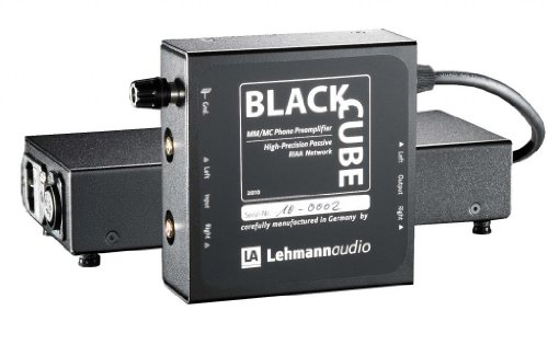 Lehmann Audio Black Cube SE - Phono Preamplifier / Stage - MM/MC Switchable, 36-66dB gain (4 Settings) by Lehmann Audio