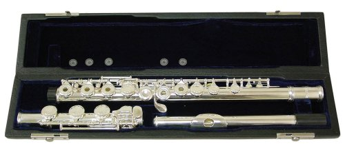 Signature Music 17 Open Hole Silver Low B Flute 2821S