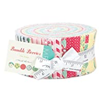 Bumble Berries Jelly Roll by Moda,#25090JR by moda