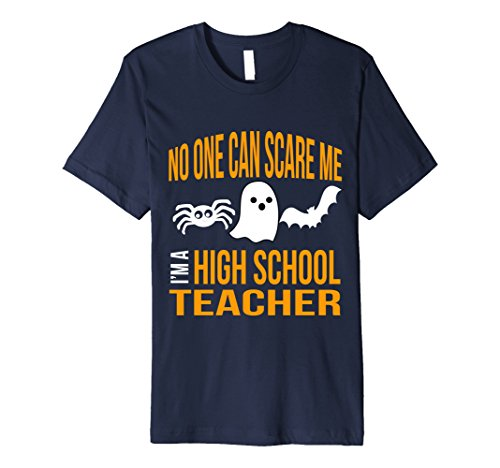 [Mens Funny Halloween High School Teacher Math Science Spanish Gag XL Navy] (Halloween Costume Lesson Plans)