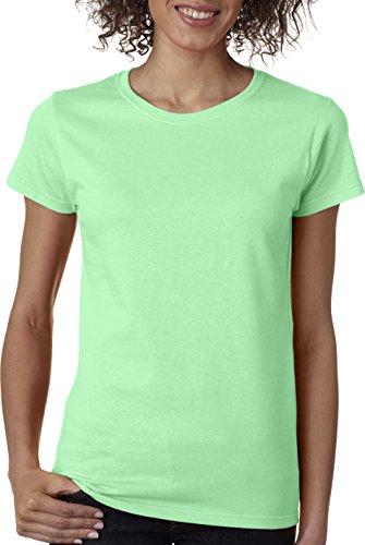 Gildan Heavy CottonTM Ladies' 5.3 oz. Missy Fit T-Shirt, Mint Green, Large