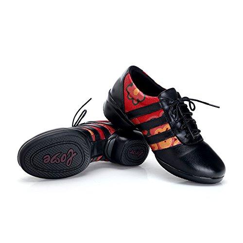 KPHY Chaussures De Danse De Fonds Mous Des Chaussures Des Chaussures Maman brown