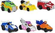 PAW Patrol, True Metal Movie Gift Pack of 6 Collectible Die-Cast Toy Cars, 1:55 Scale, Kids Toys for Ages 3 an
