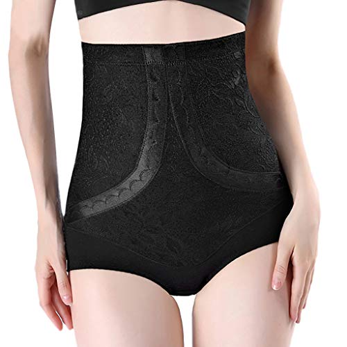 BOLMI Upspring Post Baby Postpartum Underwear for Women Postpartum Collection Abdominal Recovery and Compression Black