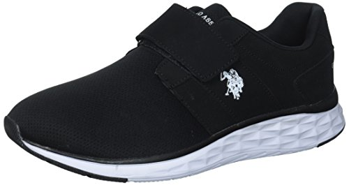 Us Polo Assn. Kvinnor Maya-pm Oxford Platt Svart / Vit