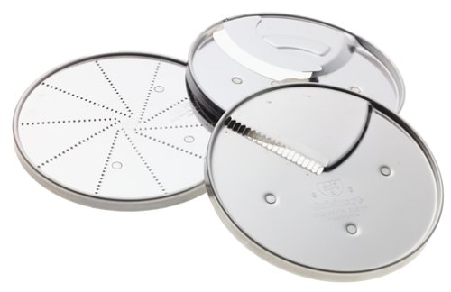 Cuisinart DLC-893 3-Piece Specialty Disc Set, Fits 7- and 11-Cup (Cuisinart Grating Disk)