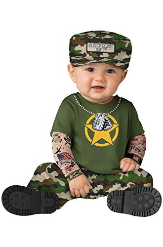Fun World Baby Boys' Sergeant Duty, Multi M ()