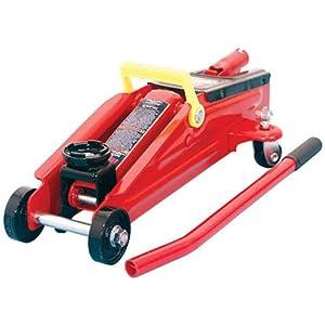 Torin Big Red Hydraulic Trolley Floor Jack, 2 Ton Capacity