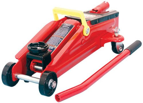 Torin Big Red Hydraulic Trolley Floor Jack, 2 Ton (Car Trolley Jack)