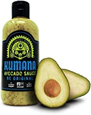 Kumana Avocado Sauce, Original Jalapeño. A Keto Friendly Hot Sauce made with Ripe Avocados and Chili Peppers. Ketogenic and