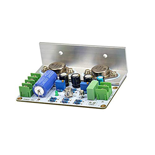 Acxico 1Pcs 1969 Class A Amplifier Board HiFi Audio Power Amplificador PCB MOT/2N3055 DIY Kits(Single Channel)