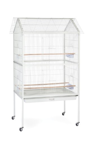 Parakeet Hendryx Prevue - Prevue Pet Products F030 Aviary Flight Cage, White