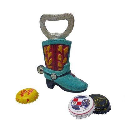 Design Toscano Western Cowboy Boot Cast Iron Bottle Opener: Set of Two