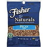 Fisher Pecan Chips Packages 2 OZ (Pack of 24)