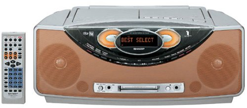 SHARP 1ビット MD/CDシステムSD-FX200-D(オレンジ) B000802ASM オレンジ