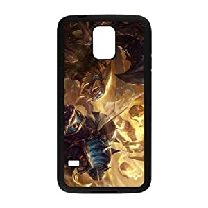 Samsung Galaxy S5 Phone Case Cover Black League of Legends Guardian of the Sands Xerath EUA15991002 Droid Cell Phone Cases