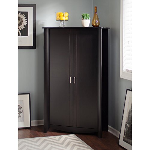 Aero Tall Storage Cabinet with Doors by Bush Furniture