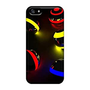 High Grade Dana Lindsey Mendez Flexible Tpu Case For Iphone 5/5s - Color Balls