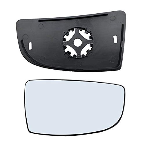 - Brand New Passenger Right Side Mirror Replacement Lower Glass with Plate fit Ford Transit 150 250 350 from 2015-Onward