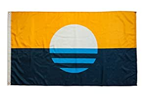 People's Flag of Milwaukee - Bandera de la ciudad de Milwaukee, ligera