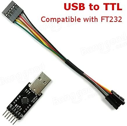 Quickbuying USB to TTL Converter Module for FT232 FTDI MWC Multiwii with 6P DuPont Line