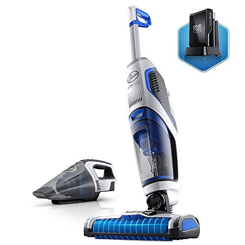 Hoover ONEPWR FloorMate Jet Cordless Hard Floor Cleaner with Handheld Vacuum, (1) Rechargeable Battery Included