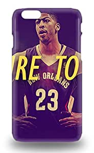 NBA New Orleans Pelicans Anthony Davis #23 Feeling Iphone 6 On Your Style Birthday Gift Cover 3D PC Case ( Custom Picture iPhone 6, iPhone 6 PLUS, iPhone 5, iPhone 5S, iPhone 5C, iPhone 4, iPhone 4S,Galaxy S6,Galaxy S5,Galaxy S4,Galaxy S3,Note 3,iPad Mini-Mini 2,iPad Air )