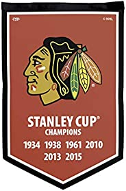 NHL Chicago Blackhawks Victory Banner, 12 x 18-inches