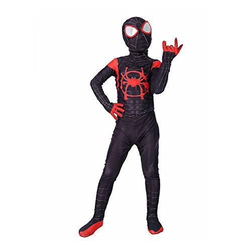 Elakaka Spiderman Homecoming Costume,Miles Morales Spiderman Costume for -