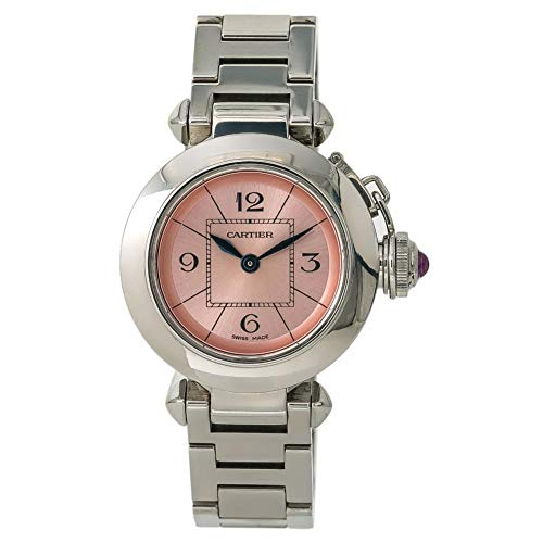 Cartier Pasha Quartz Female Watch W3140008 (Certified Pre-Owned)