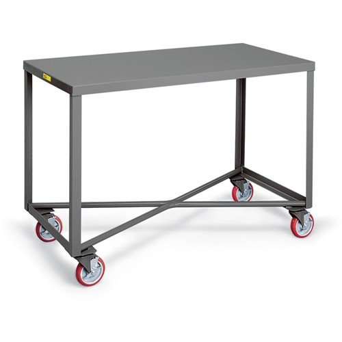 Little Giant Single-Shelf Mobile Tables - 36