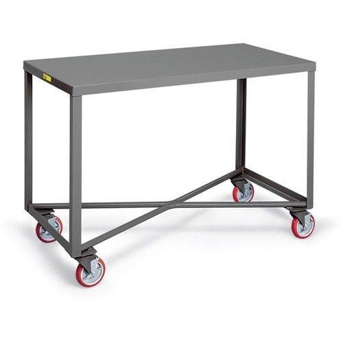 (Little Giant Single-Shelf Mobile Tables - 36