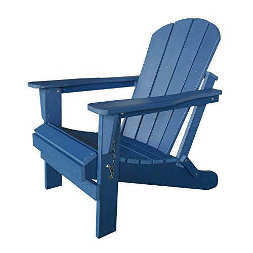 DAILYLIFE Plastic//Resin Classic Outdoor Adirondack Chair Polystyrene Weatherproof Lounge Chair for Porch Patio Deck Garden,Backyard /& Lawn Furniture