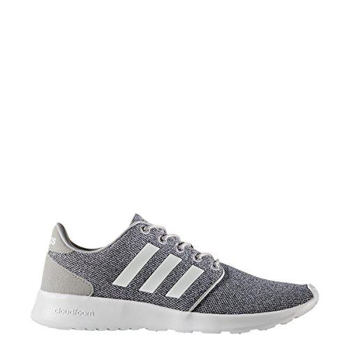 wholesale dealer c88a2 9e610 Galleon - Adidas Women s Cloudfoam Qt Racer W Running Shoe, White Clear Onix,  6.5 M US
