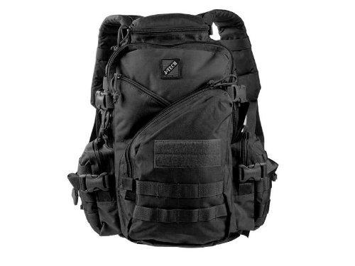 Jtech Gear Jar Head Assault Backpack, Black [並行輸入品] B07R4VR131