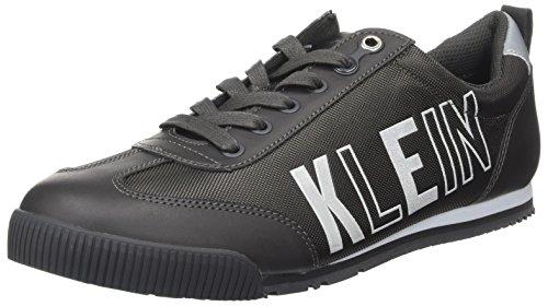 Welby Lisse / Baskets En Nylon Noir Calvin Klein Hommes (charbon De Bois)