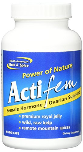 North American Herb and Spice Actifem, 90 Count by North American Herb & Spice