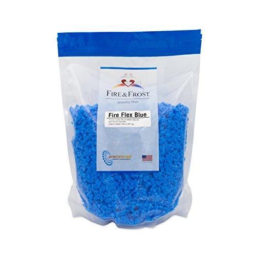 Fire Flex Blue, Jewelry Injection Wax, 5lb by Fire & Frost