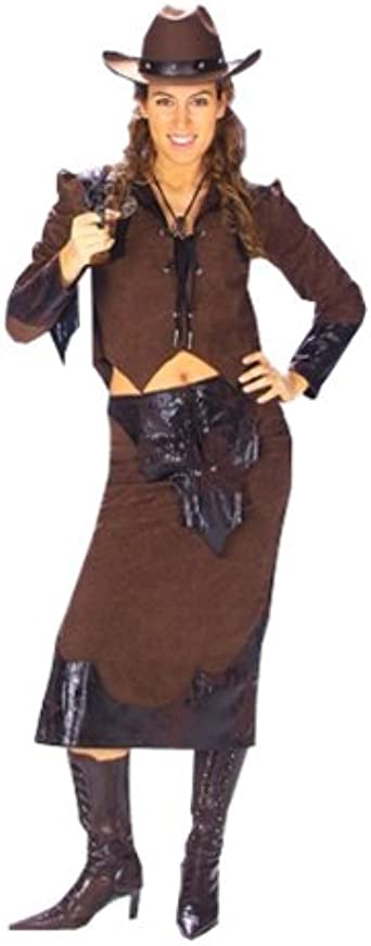 Western-le donne costume camicia Costume Cowgirl Rock