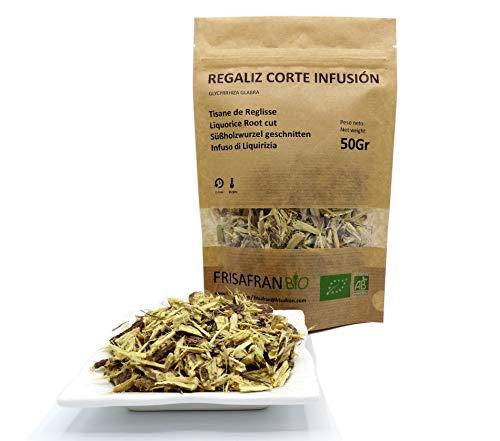 FRISAFRAN - Regaliz corte infusion Ecologico certificado (50Gr)