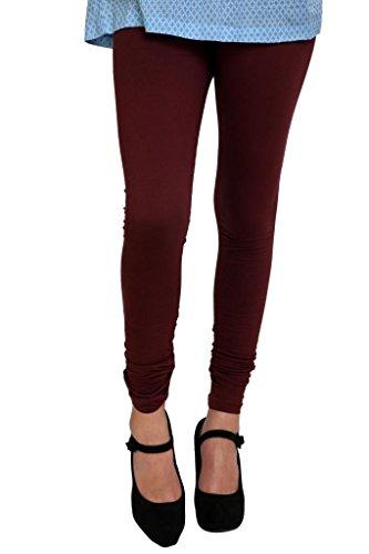 - Anekaant Women's Cotton Lycra's Chudidar Free Size Dark Maroon