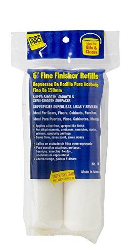 FoamPRO 176 Fine Finish Mini Roller Refills (High-Density Foam) (2-pack) 6