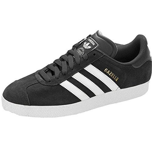 8 Negro Zapatillas 2 Eu Ante Para Deportivas Adidas Hombre 42 Gazelle Originals Uk zwZqwxga