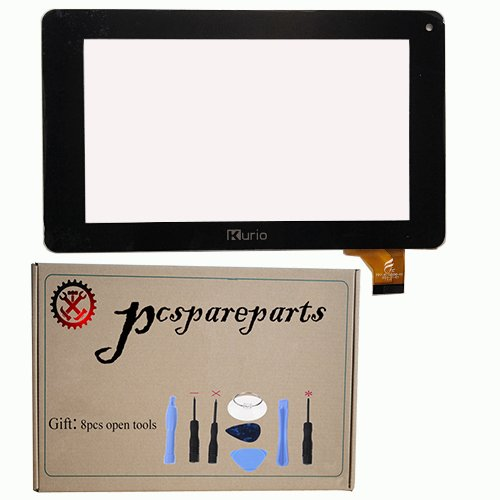 pcspareparts Replacement Digitizer Touch Screen Glass Panel for Kurio C14100 C14100 C14150 Xtreme 7 Inch Tablet Pc+8pcs open tools